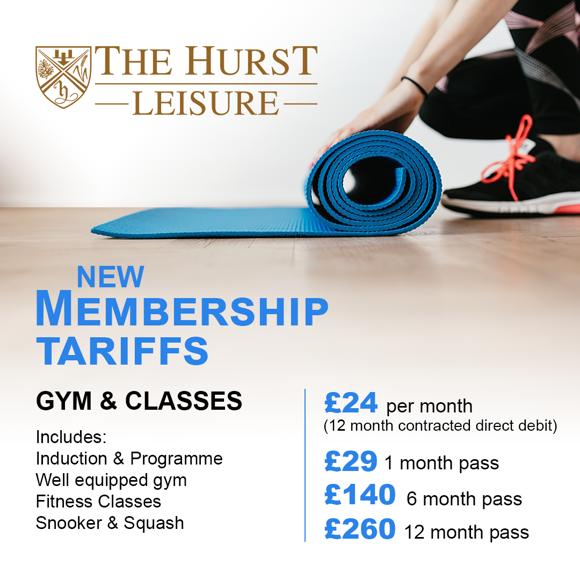 Membership tariffs
